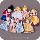 """Красивые перчаточные куклы по сказке """"Золушка"""" купить"""